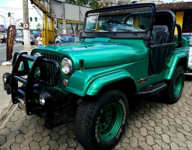 Jeep Willys 4x4 gasolina 1966/66. Muito novo. Raridade! Confira! - Foto 8