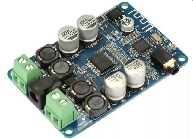 COD-AM296 Amplificador De Áudio E Receptor Bluetooth Tda7492p 25+25w Arduino Robotica