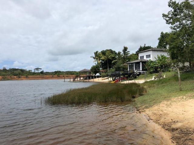Casa 3/4 Praia do Forte, na beira da lagoa Aruá, contato direto com a natureza - Foto 18