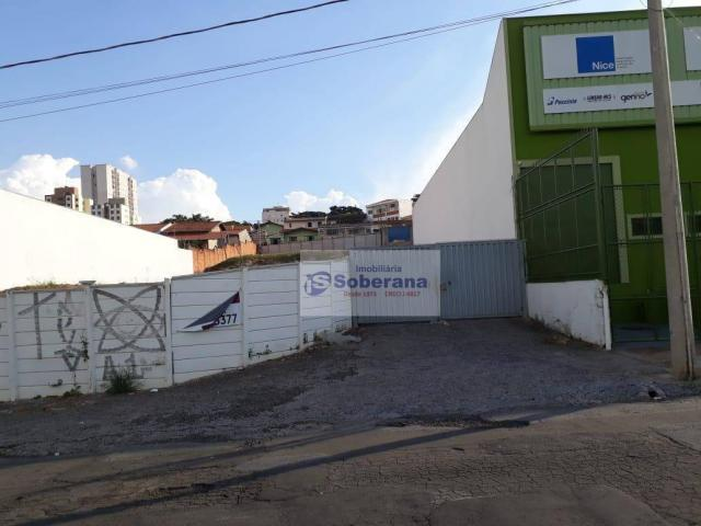 Área para alugar, 1200 m² por R$ 3.500/mês - Jardim do Trevo - Campinas/SP