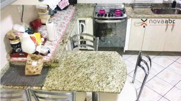 Sobrado com 3 dormitórios à venda, 220 m² por R$ 590.000 - Parque Marajoara - Santo André/ - Foto 7