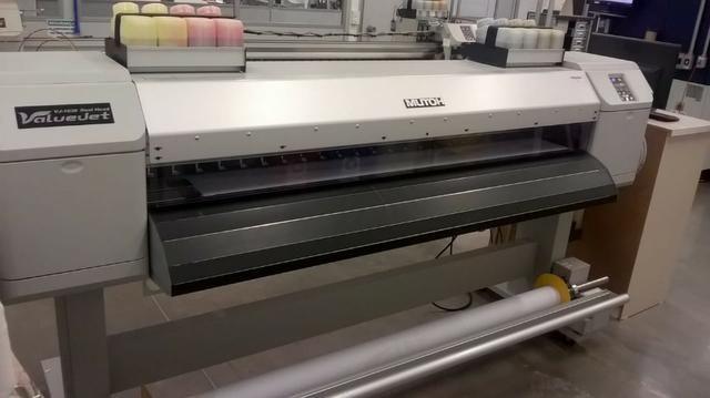 Impressora Mutoh Vj-1638 Dual Head Sublimação Duas Cabeças