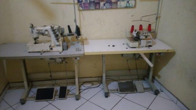 Máquina industrial de costura - Foto 3