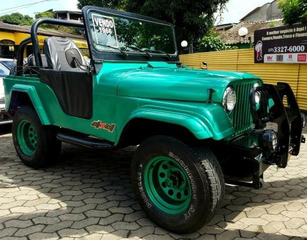 Jeep Willys 4x4 gasolina 1966/66. Muito novo. Raridade! Confira! - Foto 2