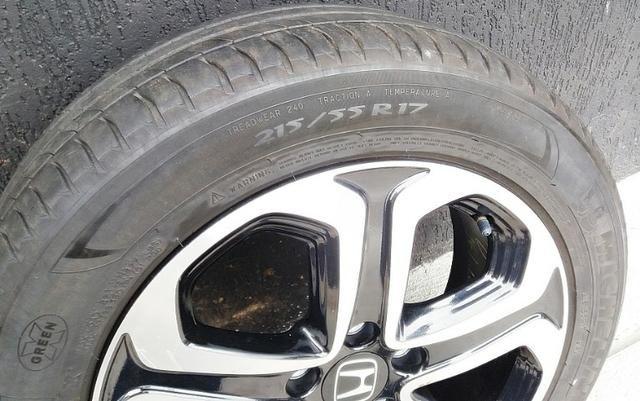 Rodas Honda Hr-v 215/55 R17 com pneu - Foto 4