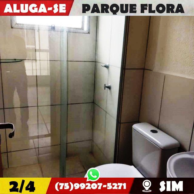 Parque Flora 2/4-Com Armários Na-Cozinha e Banheiro-Bairro-Sim-Feira de Santana-BA - Foto 5