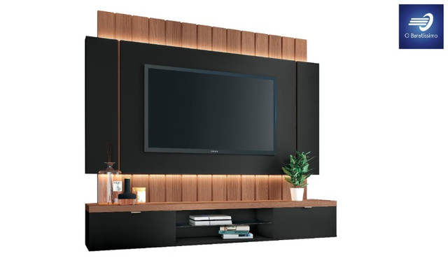 """Home Suspenso com Fitas de LED para TV até 55"""" - Foto 2"""
