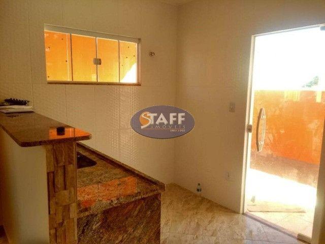KA- Casa na Planta e com 2 quartos e suíte, em Condomínio, por R$ 100.000 - Unamar - Foto 8