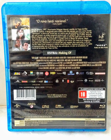 Blu-Ray Original - Tropa de Elite - Foto 3