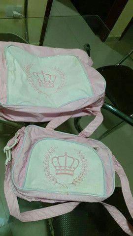 Bolsa saída de maternidade e cobertor - Foto 5