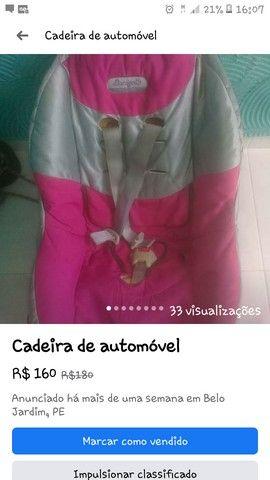 Cadeira Infantil Veiculo - Foto 3