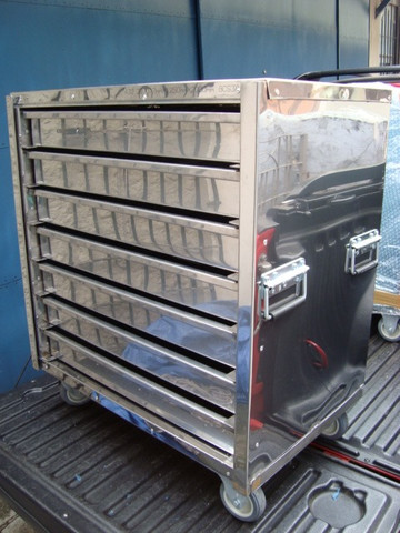 Gaveteiro Térmico Inox/Armário Para Pastéis - Pasteleiro de Feira Pagamento Facilitado - Foto 3