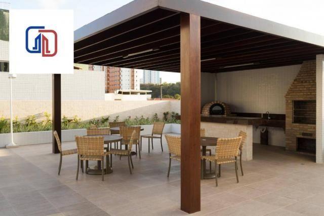 Apartamento com 2 dormitórios à venda, 62 m² por R$ 377.137 - Manaíra - João Pessoa/PB - Foto 2