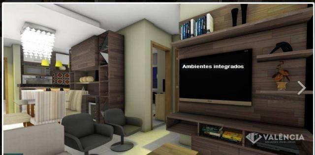 Apartamento com 1 dormitórios à venda, 39 m² por R$ 175.000,00 - São Cristóvão - Cascavel/ - Foto 10