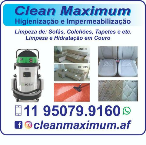 Sofá limpo!!! com garantia!!! - Foto 5
