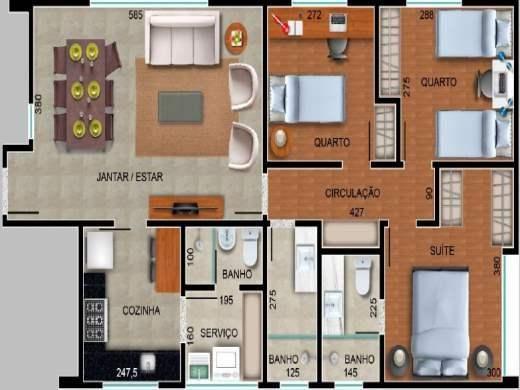 Apartamento à venda com 3 dormitórios em Serra, Belo horizonte cod:18783 - Foto 12