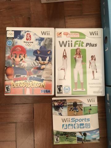 Nintendo Wii Caixa Completo C/ Wii Sports + Plataforma - Foto 3
