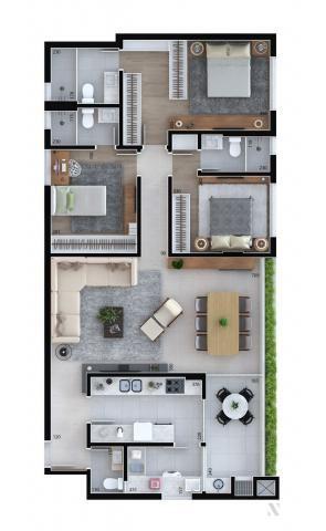 Apartamento residencial para venda, Cristo Rei, Curitiba - AP6996. - Foto 15