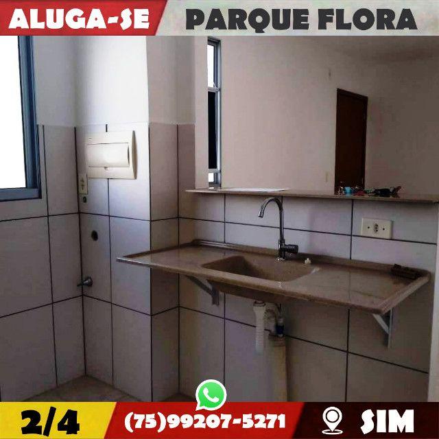 Parque Flora 2/4-Com Armários Na-Cozinha e Banheiro-Bairro-Sim-Feira de Santana-BA - Foto 14