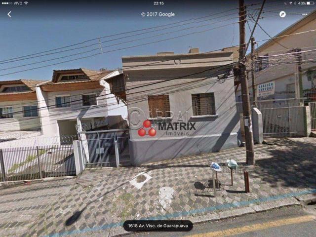Terreno residencial à venda, centro, curitiba - te0743.