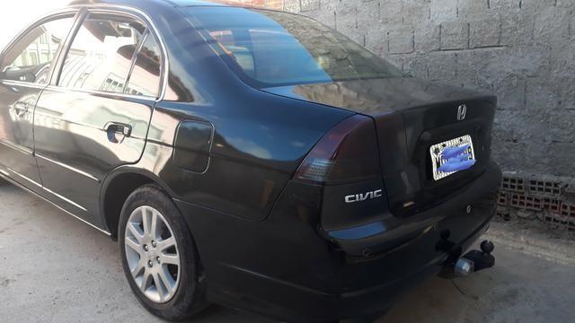 Vendo Honda Civic lxl automático 2004 - Foto 4