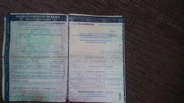 Vende Caminhão Bau- A 40 alcool e gnv , ano 86 - Foto 16