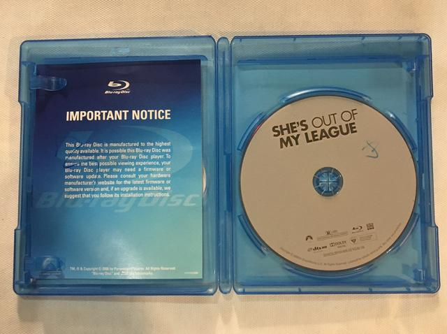 Disco Blu-ray SHE?S OUT OF MY LEAGUE - Foto 3