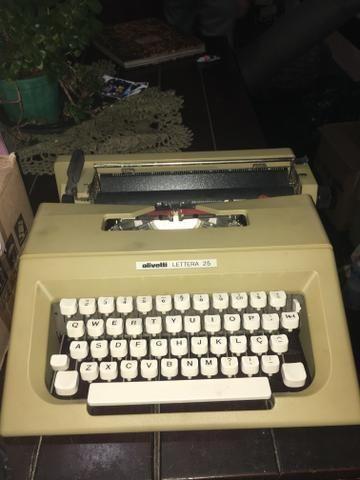 Máquina de escrever olivetti lettera 25 - Foto 3