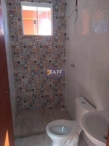 KA- Casa na Planta e com 2 quartos e suíte, em Condomínio, por R$ 100.000 - Unamar - Foto 15