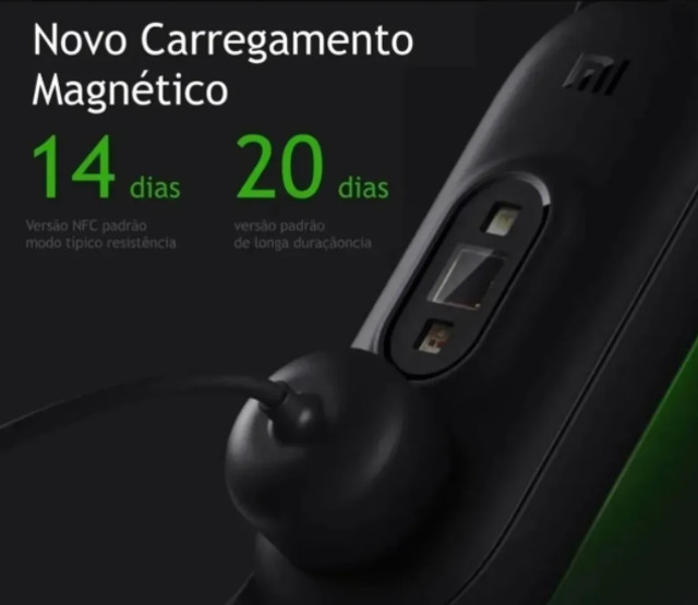 Relogio Smartwatch Xiaomi Mi Band 5 + Pulseira + 2 Peliculas - Foto 2