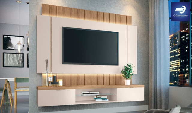 """Home Suspenso com Fitas de LED para TV até 55"""" - Foto 3"""