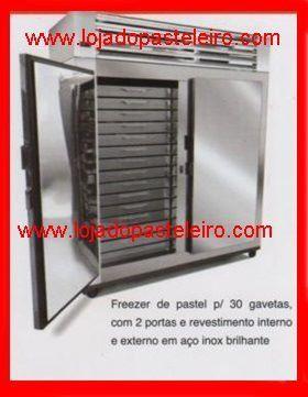 Freezer/Frezer/Geladeira Para Pastéis/gaveteiro com motor, Pastelarias - Foto 2