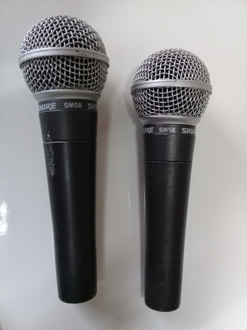 Microfone Shure SM 58 Original na Caixa - Foto 2