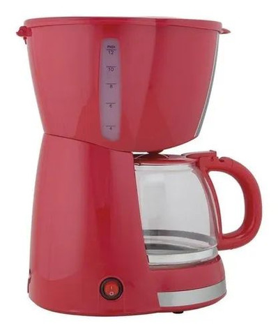 Cafeteira Britânia CP30 Inox vermelha 110V<br><br>