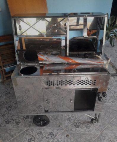 Carrinho de hot dog cachorro quente - Foto 3