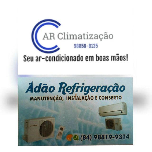 Manutenção e Instalação de ar-condicionado