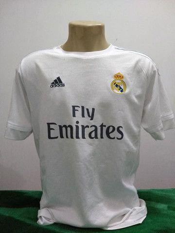 Camisa do Real Madrid da Espanha 2015 Adidas