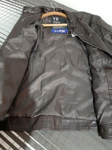 Jaketa de couro ecológica - Foto 3