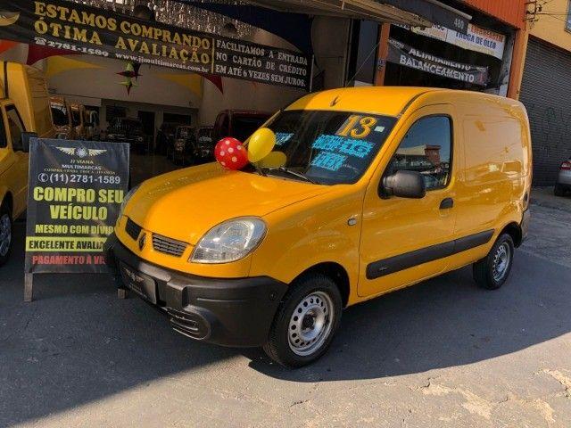 Renault Kangoo Express 1.6 Flex Completa - Baixa KM - SEM Entrada - Revisado