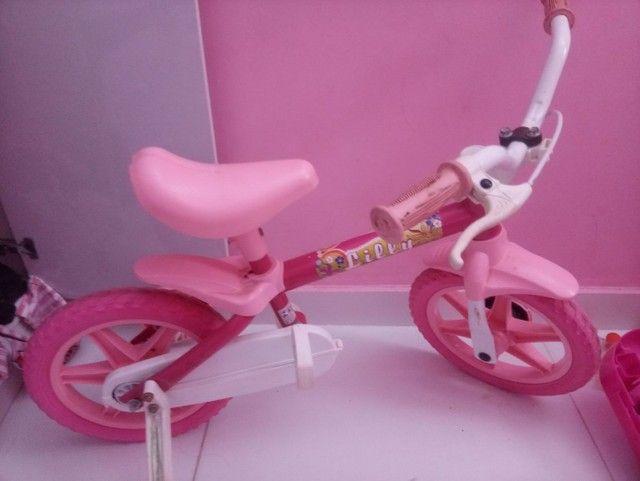 Bicicleta para menina de 1 a 3 anos - Foto 4