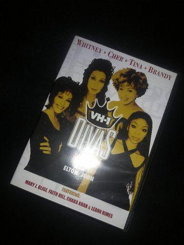 Dvd Divas Live Vh1(whitney, Brandy, Cher E Tina Turner)