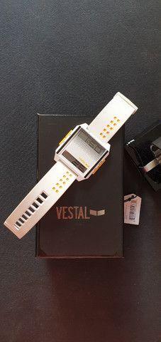 Relogio digital Digichord Vestal branco importado - Foto 2