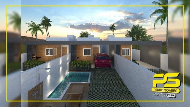 Casa com 2 dormitórios à venda, 74 m² por R$ 195.000 - Cidade Balneária Novo Mundo I - Con - Foto 2