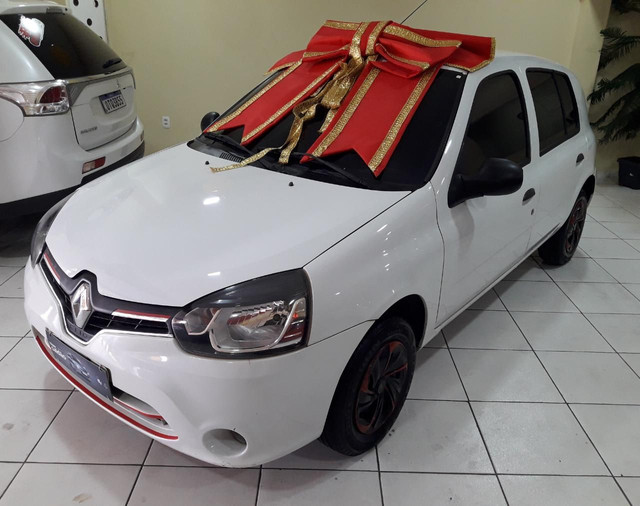 Clio renault 2014 1.0 exp (ent miníma$$$1.000) carro toop