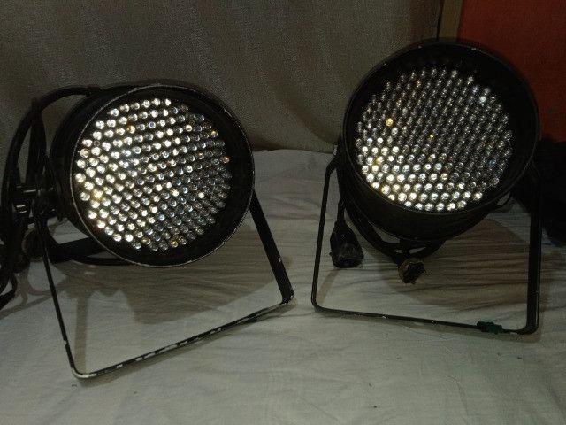 Canhão de luz de led proficionais, canhão de liz show, muito potente - Foto 4
