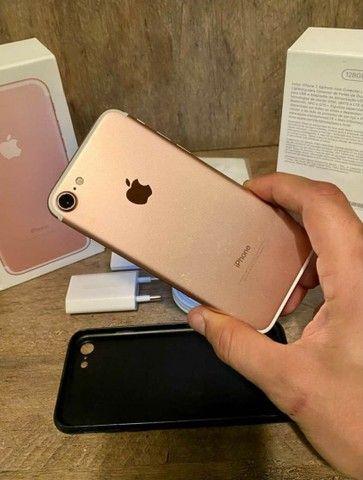 iPhone 7 128gb na Caixa - ACEITAMOS TROCAS - Foto 6