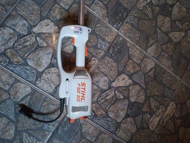 Vendo Rosadeira elétrica stihl pse 60 - Foto 2