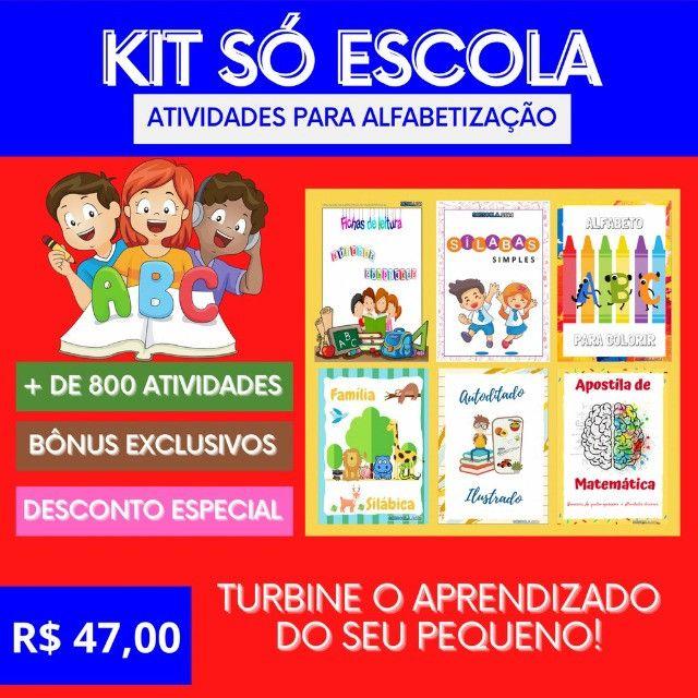 .:: Kit de Atividades Alfabetização Infantil :: - Foto 3
