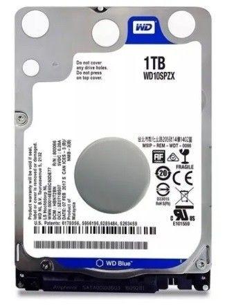 Disco rígido interno Western Digital WD10JPCX 1TB azul<br><br>