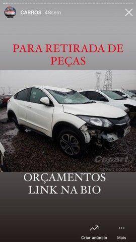 *SUCATA* Honda HRV retirada de peças
